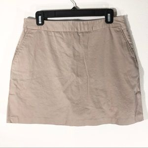 Adidas Tan Mini Tennis Skort